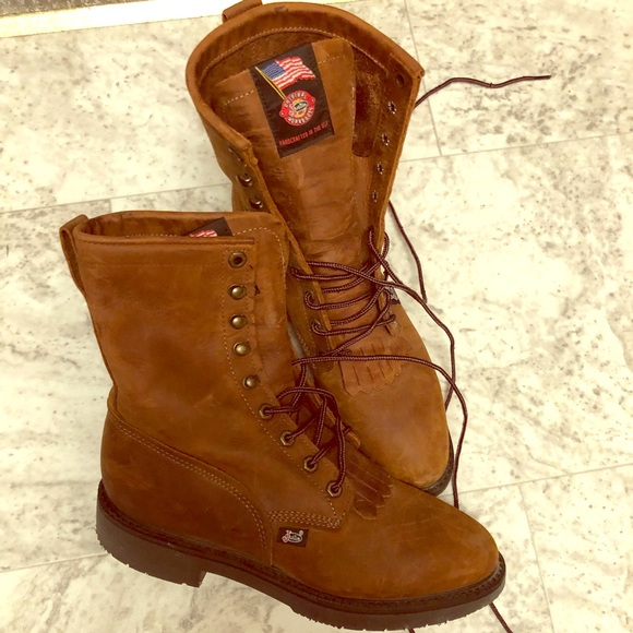 ce8cc26bbec Justin Men's Conductor Work boots style 760